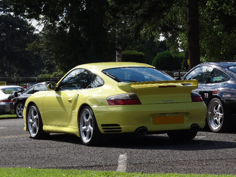 Porsche Back