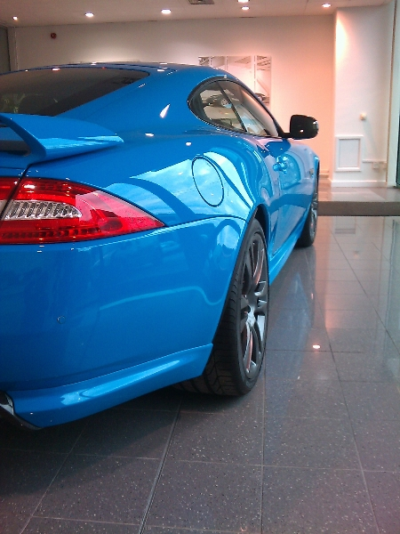 Castle Bromwich Jaguar HQ showroom